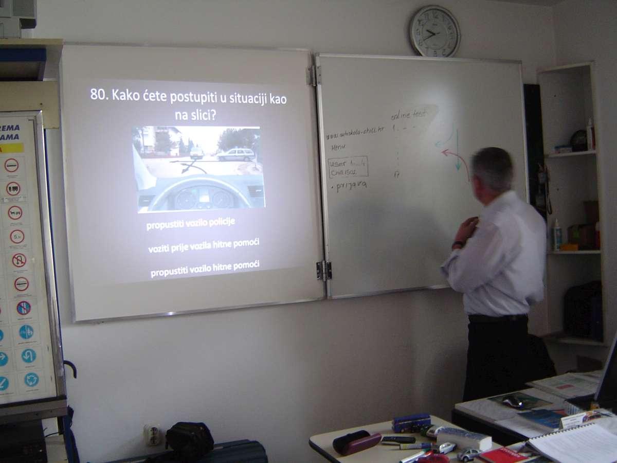 Dragutin Barlović - nastavnik prometnih propisa