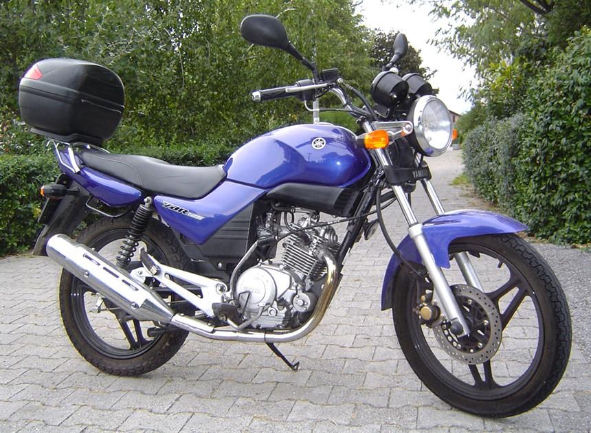 motocikl yamaha 125ybr