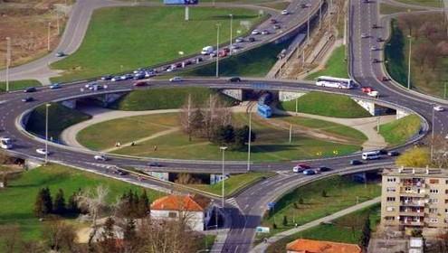 slika prometnog kružnog toka