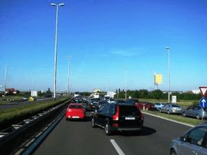 promjena trake u prometu
