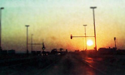 slika uvjeta vidljivost na cesti