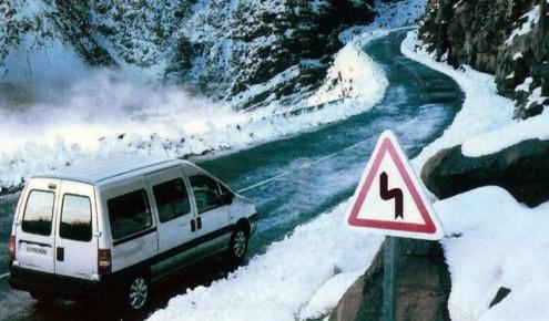 zimski uvjeti na cestama